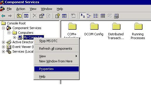 Network access for Distributed Transaction Manager (MSDTC) has been